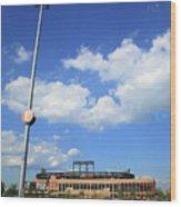 Citi Field - New York Mets Wood Print
