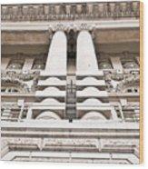 Classic Architecture Wood Print