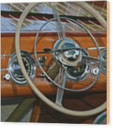 Classic Runabout Wood Print