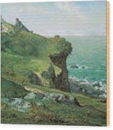 Cliffs Of Greville Wood Print