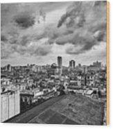 Clouds Over Havana Wood Print