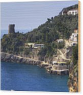 Furore - Coast Of Amalfi Wood Print