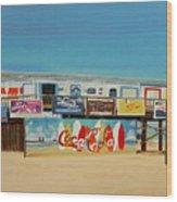 Cocoa Beach/cape Canaveral Pier Wood Print