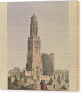 Complex Of Sultan Qalawun Wood Print