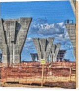 construction WHSD Wood Print