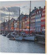 Copenhagen - Denmark Wood Print