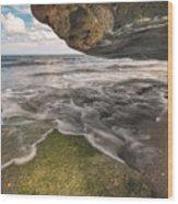 Coral Cove Wood Print