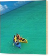 Couples Vacation Wood Print