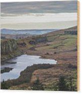 Crag Lough Wood Print