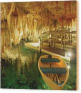 Crystal Cave In Hamilton Parish Bermuda Wood Print