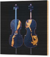 Custom Gliga Cello Wood Print