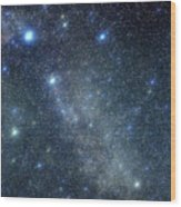 Cygnus Constellation Wood Print