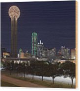 Dallas - Texas Wood Print