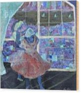Dansarinas Wood Print