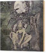 Dark Religion Wood Print