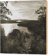 Dawn At Algonquin Park Canada Wood Print