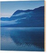 Dawn At Lake Bohinj In Slovenia Wood Print