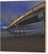Deerfield Beach, Florida Pier Wood Print
