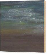 Desert Moonlight Wood Print