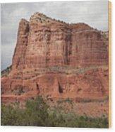 Desert View, Sedona, Arizona Wood Print