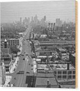 Detroit 1942 Wood Print