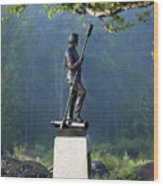 Devil's Den Monument At Gettysburg Wood Print