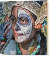 Dia De Los Muertos - Day Of The Dead 10 15 11 Procession Wood Print by Robert Ullmann