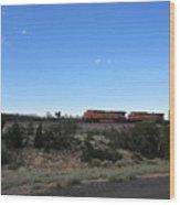 Diesel Train Engines Wood Print