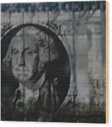 Dollar Bill Wood Print