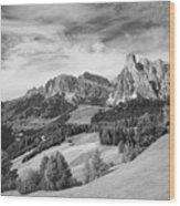 Dolomiti, Landscape Wood Print