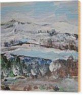 Donner Lake Wood Print