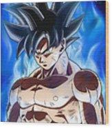 Dragon Ball Super - Goku Wood Print