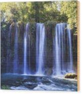 Duden Waterfall - Turkey Wood Print