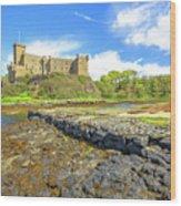 Dunvegan Castle Landscape Wood Print
