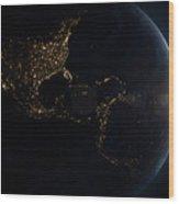 Earth Wood Print