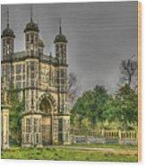Eastwell Towers Wood Print