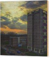 Edmunds Tower Wood Print