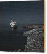 Edro IIi Shipwreck - Cyprus Wood Print