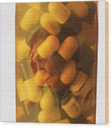Elderly Drug Use Wood Print