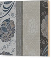 Elegante Iv Wood Print