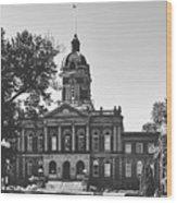 Elkhart County Courthouse - Goshen, Indiana Wood Print