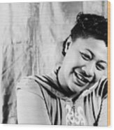 Ella Fitzgerald (1917-1996) Wood Print by Granger