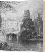England: Warwick Castle Wood Print