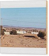 Entering Tunisia Wood Print by Bry Bastien