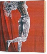Evolution Of Eve Figure 2 Wood Print by Greg Coffelt