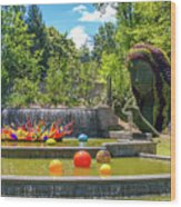 Chihuly Exhibition In The Atlanta Botanical Garden. #02 Wood Print