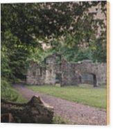 Fairafar Mill, Cramond, Edinburgh Wood Print