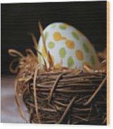 Fashionable Egg Wood Print