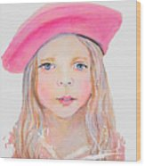Fayanna Little French Angel Of Trust Wood Print