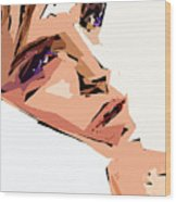 Female Expressions Xii Wood Print